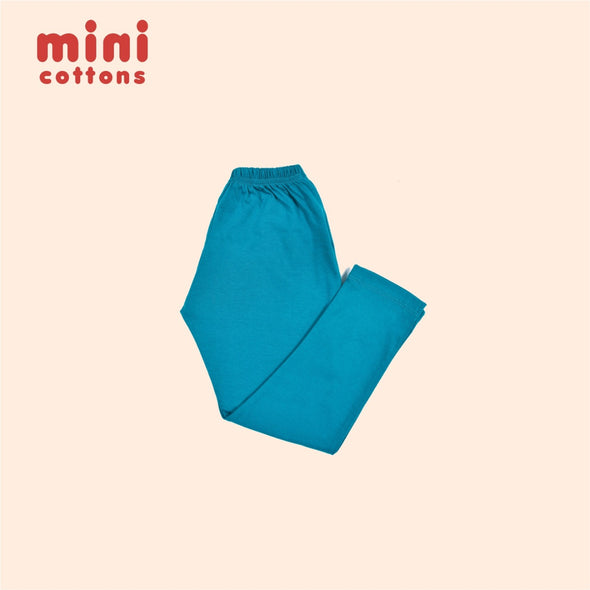 MINI COTTONS CELANA PANJANG ANAK BASIC SKY BLUE