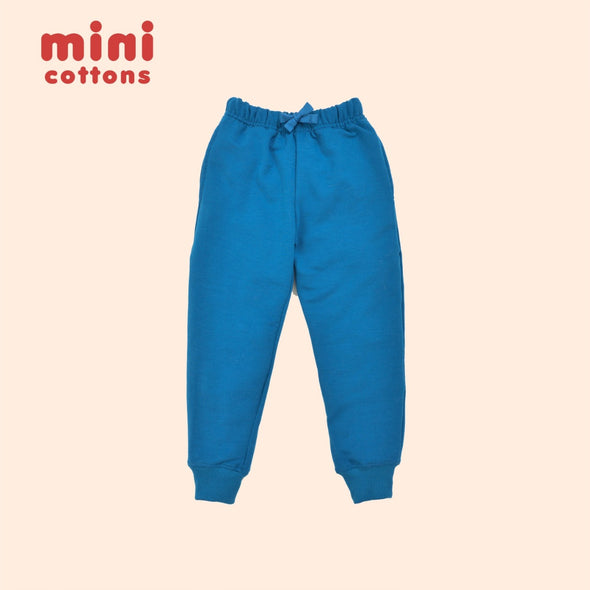 MINI COTTONS JOGGER PANTS ANAK ADMIRAL BLUE