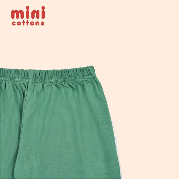 MINI COTTONS CELANA PANJANG ANAK BASIC TEAL GREEN