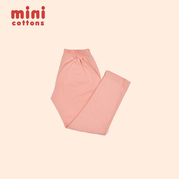 MINI COTTONS CELANA PANJANG ANAK BASIC PINK BLUSH