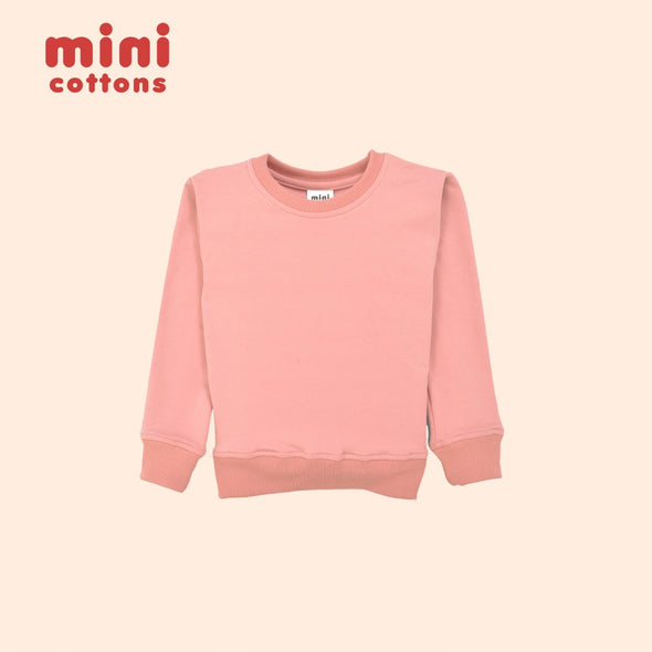 MINI COTTONS SWEATER ANAK PINK CANDY