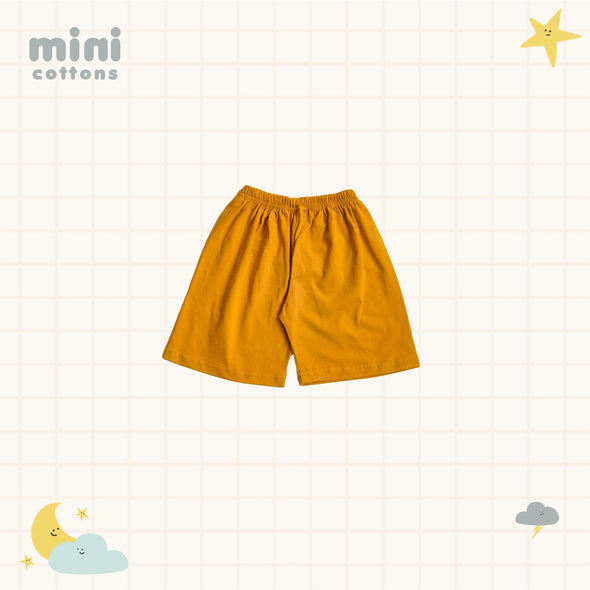 MINI COTTONS KIDS SET MUSTARD TEE