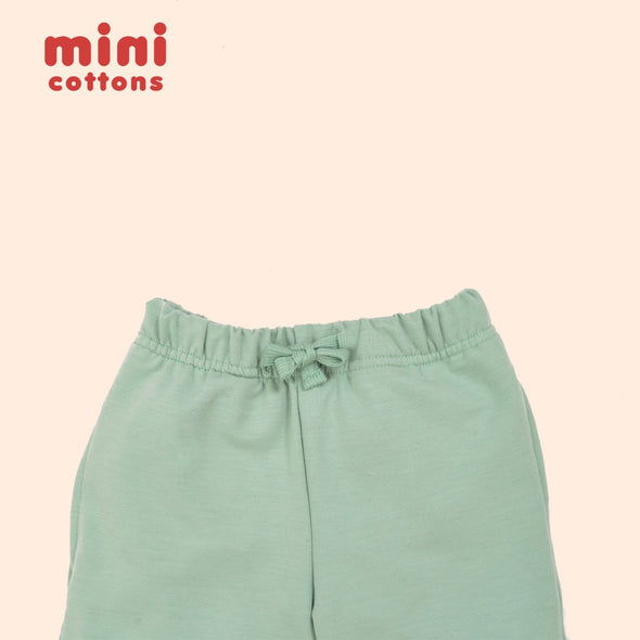 MINI COTTONS JOGGER PANTS ANAK DYMA GREEN