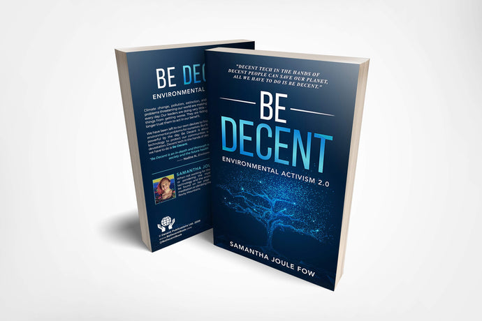 BE DECENT- PAPERBACK (PRE-ORDER) Be Decent Book