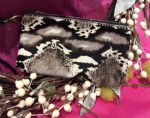 Load image into Gallery viewer, Animal Print Oblong Leather Clutch Purse (4 prints available)