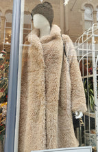 Load image into Gallery viewer, Faux Fur 3/4 Length Coat