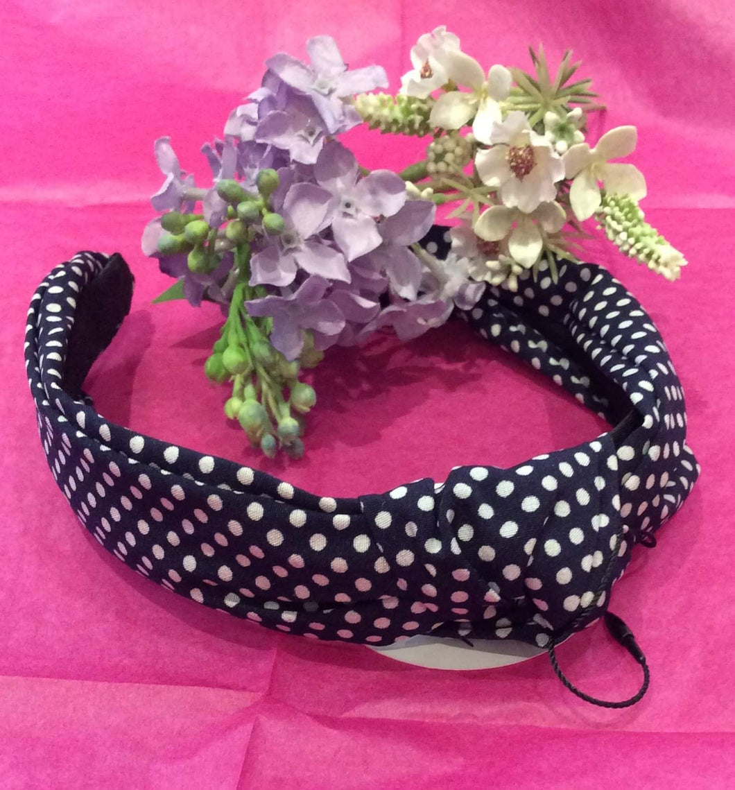 Polka Dot Hairband (variety available)