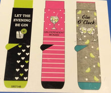 Load image into Gallery viewer, Gin Socks Boxed Socks - Adult Size 4-8