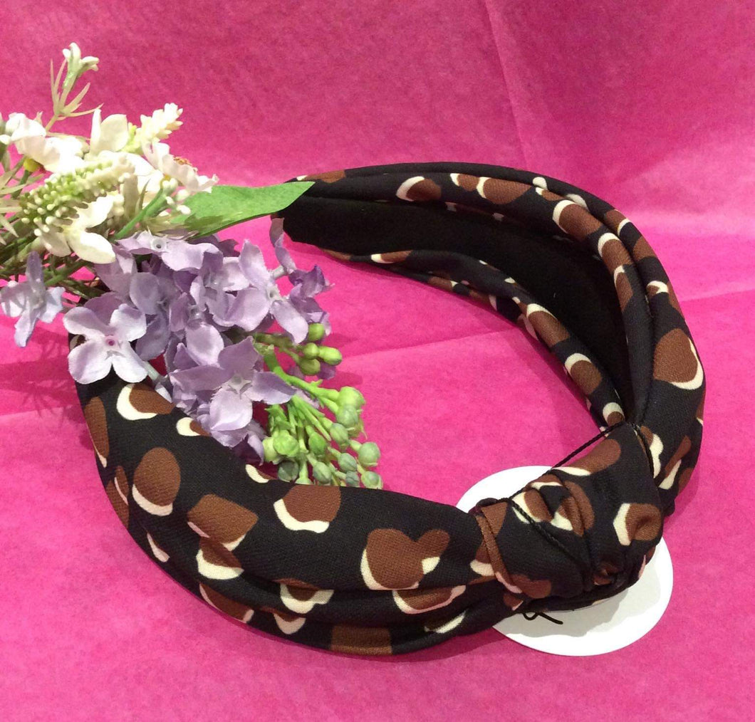 Leopard Print Hairband (2 colours available)