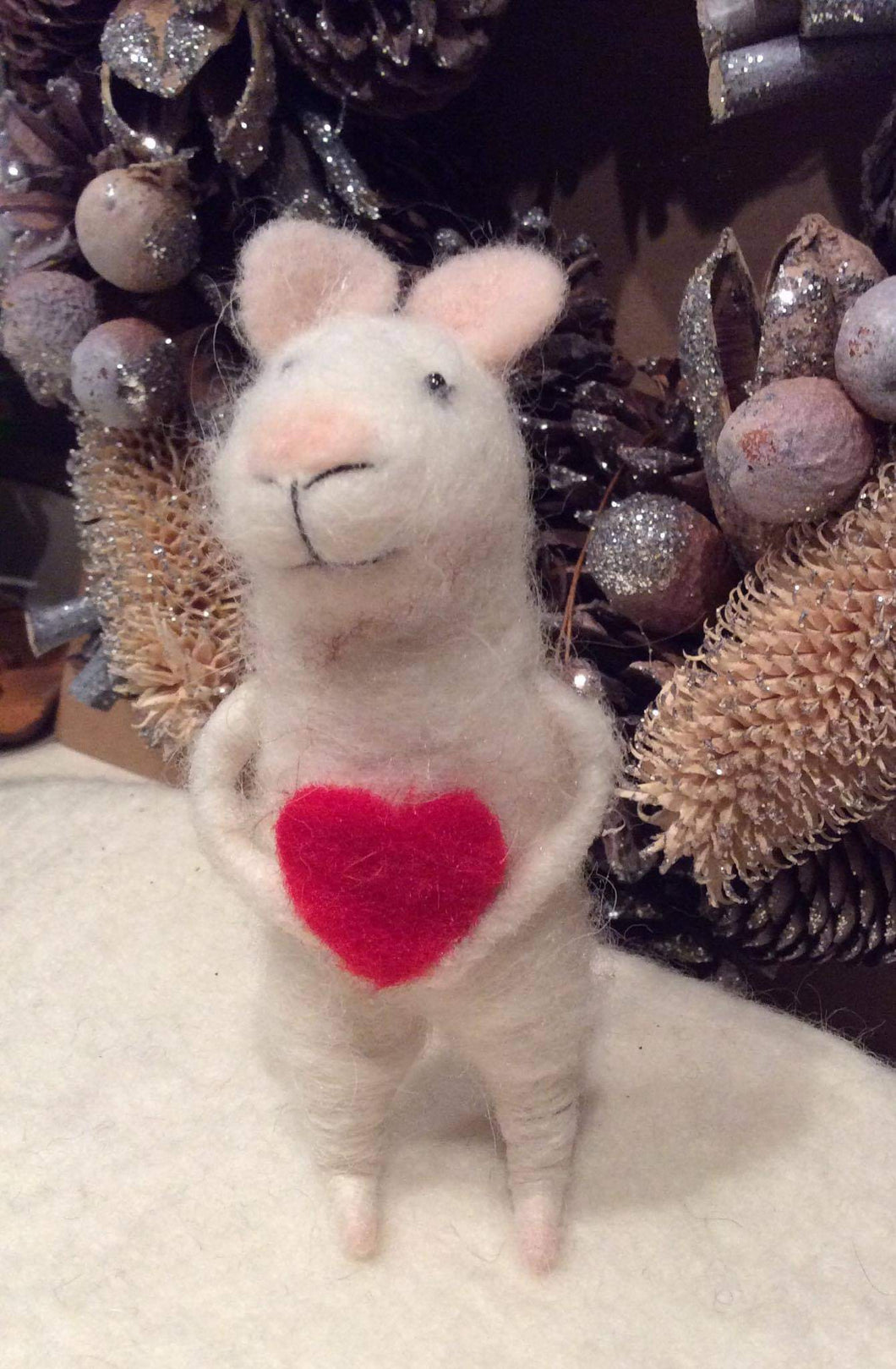 Mouse with Heart Felt