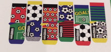 Load image into Gallery viewer, Just Kick It Odd Boxed Socks 6 pairs - Boys Large