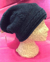 Load image into Gallery viewer, Slouch Hats Moss Stitch & Cable