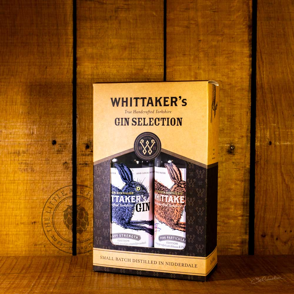Whittaker's Pink & Navy 20cl gift set