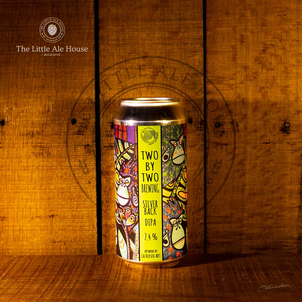 Silver Back DIPA, Two by Two Brewery 7.4% 440ml