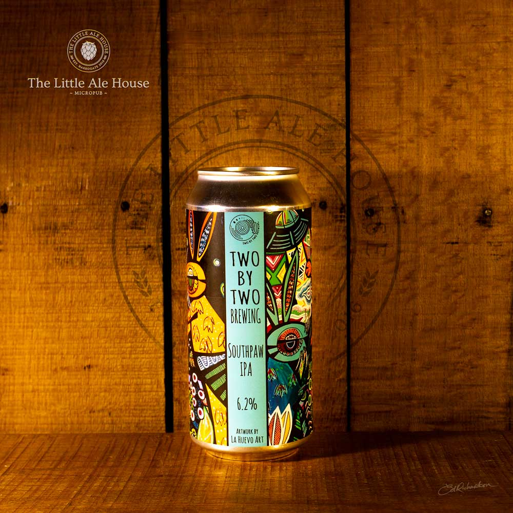 Southpaw IPA, Two by Two Brewery 6.2% 440ml