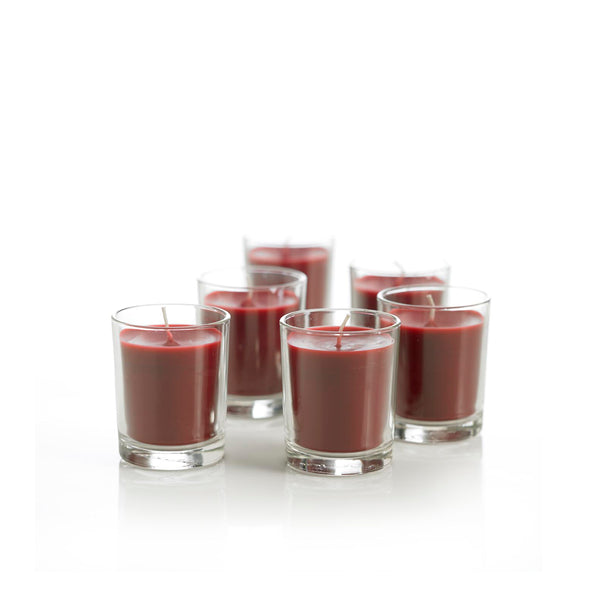 Scented Plant Based Candles - Sweet Berries - Pack of 6