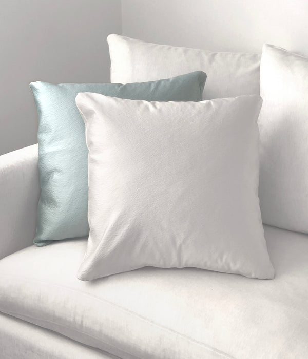 "Anne Ivory Throw Pillow - 22"" x 22"""