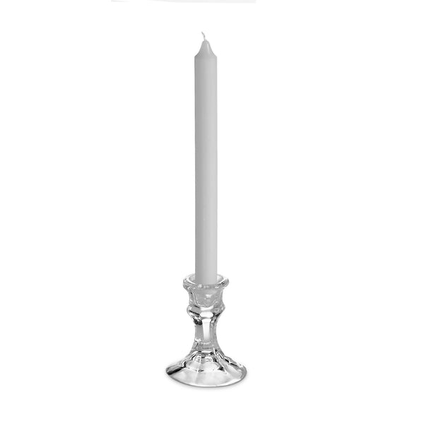 "10"" Formal Unscented Taper Candles -  White - Pack of 10"