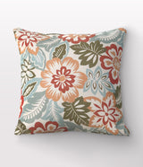 "Frida Bouquet Throw Pillow - 24"" x 24"""