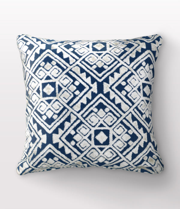 "Maya Midnight Throw Pillow - 24"" x 24"""