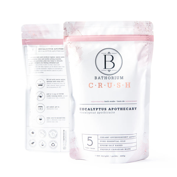 CRUSH Bath Soak - Eucalyptus Apothecary