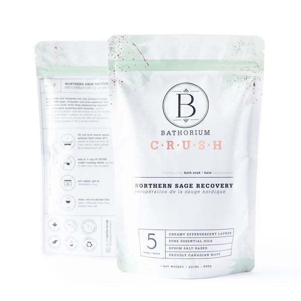 CRUSH Bath Soak - Northern Sage Recovery