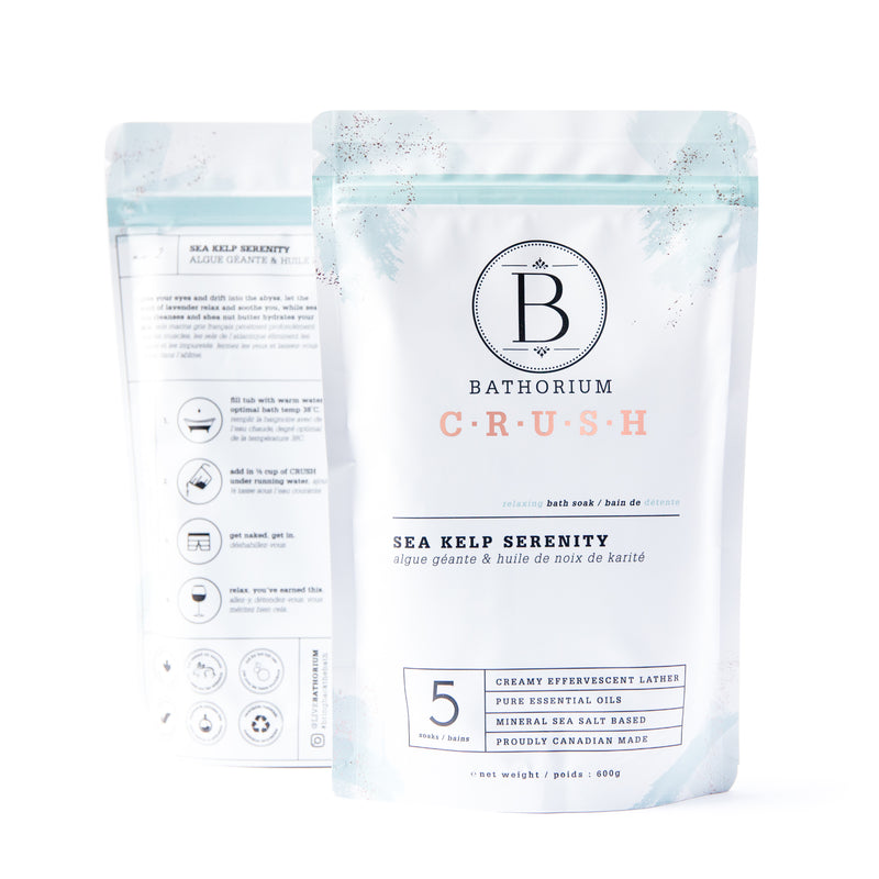 CRUSH Bath Soak - Sea Kelp Serenity