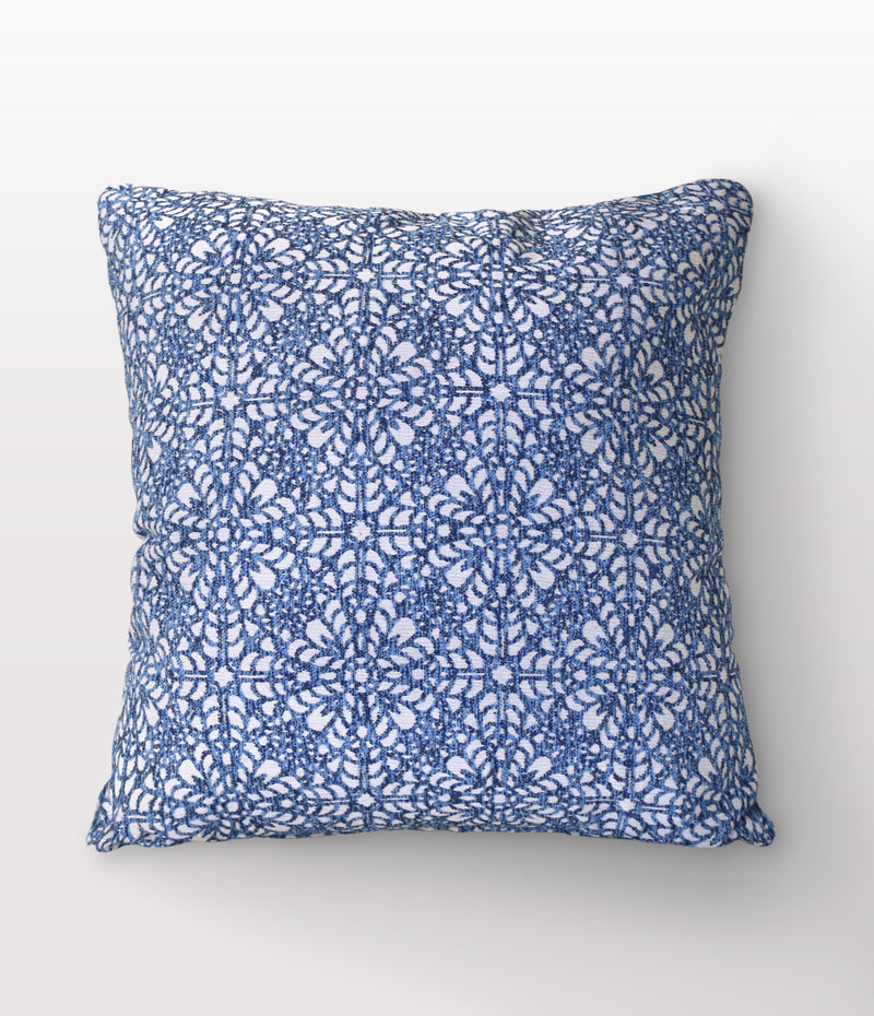 "Tessa Denim Throw Pillow - 22"" x 22"""