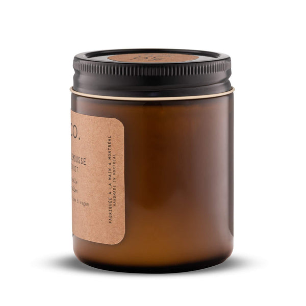 Soy Candle - Pear, Black Currant + Violet 237 ml