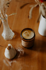Soy Candle - Osmanthus + White Tea 237 ml