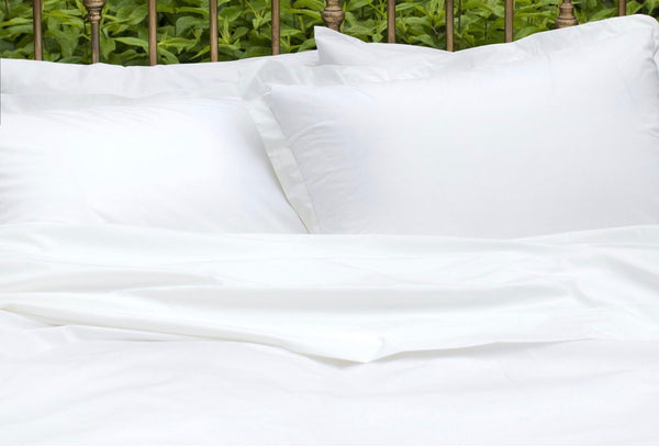 Nico Organic Cotton Duvet Cover - White