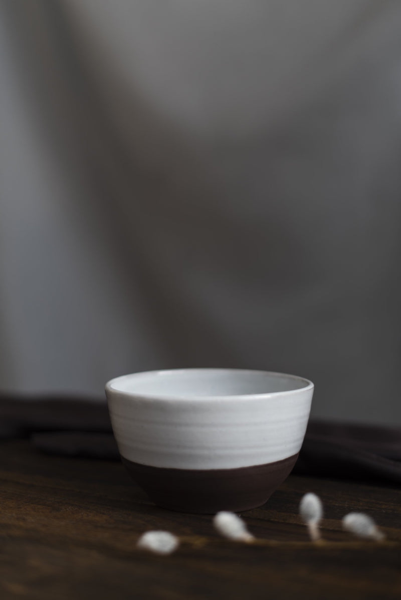 Dark Sandstone Stoneware - Small Bowl