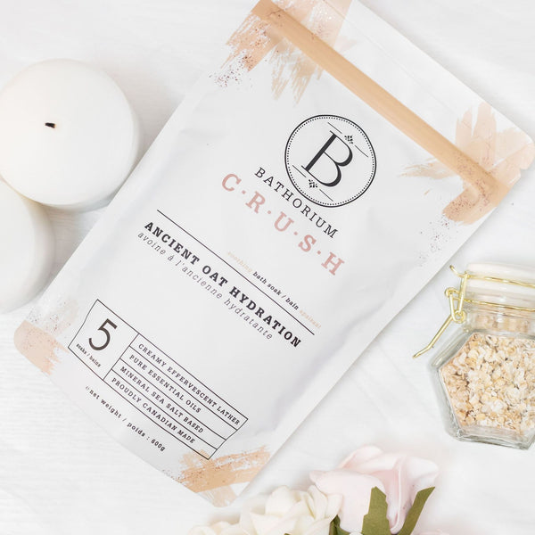 CRUSH Bath Soak - Ancient Oat Hydration