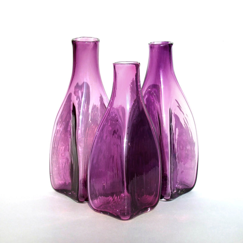 Square Bottle - Amethyst
