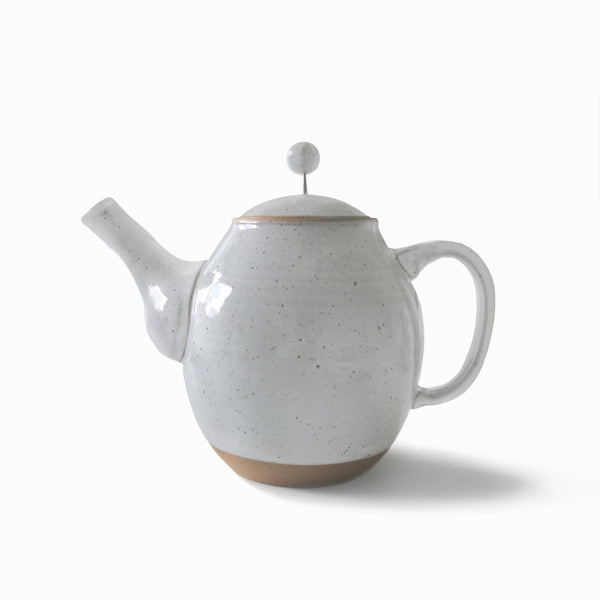 Simply Speckled Collection Teapot - White