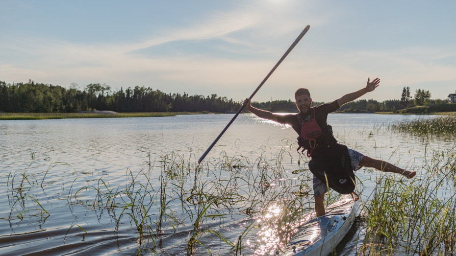 Recap Interview Eighteen-year-old Gearlab Athlete Alex Martin Completes First Solo Circumnavigation of Lake Winnipeg