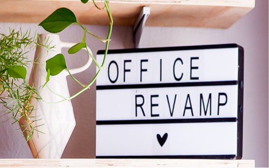 Office revamp: The inspiration, the before, the after and our little black book
