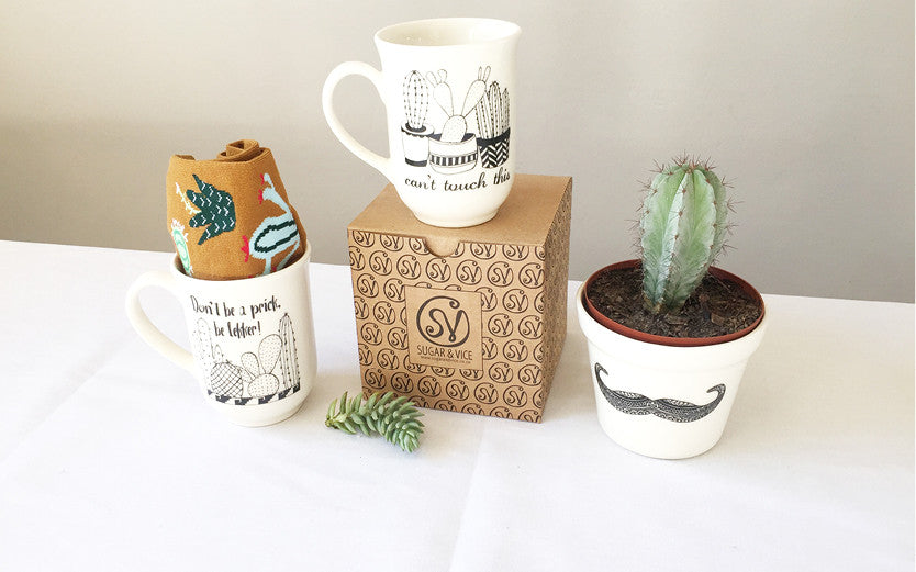 Crazy about cacti - New Cactus Mugs