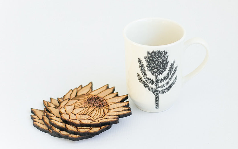 New Sugar & Vice Range - Cacti, Protea, Bridal & Panda Designs