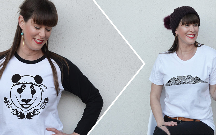 Totally in love with our new tees & free shipping