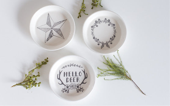 Hello Deer, look at our NEW ceramic bowls!