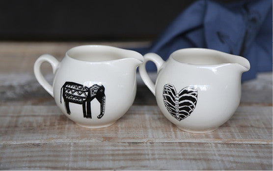 Pretty Ceramic Milk Jugs