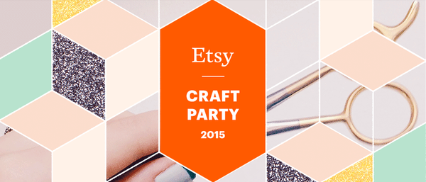Sugar and Vice sponsors Etsy Craft Party