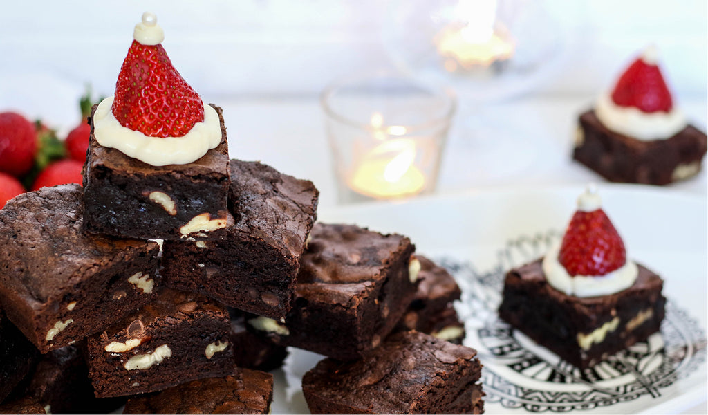 21 days of gratitude Christmas brownies recipe