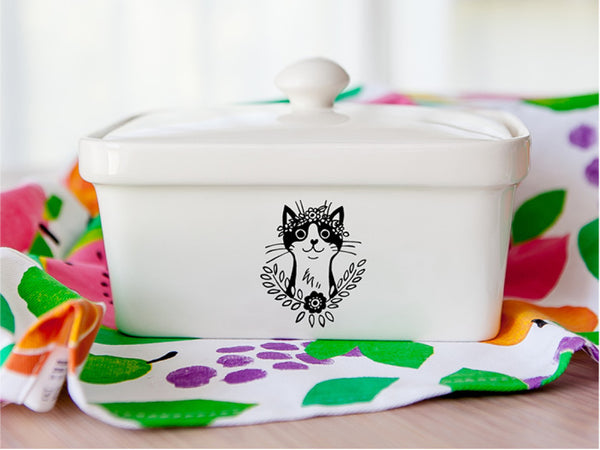 10 souvenir gifts Bohemian Cat butter dish - Sugar and Vice blog