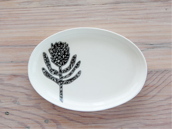 10 souvenir gifts Protea jewellery plate - Sugar and Vice blog