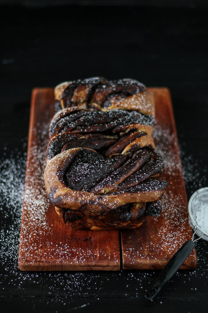 chocolate & cinnamon swirl loaf recipe 21 days of gratitude