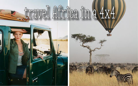 Sugar and Vice Awesome List - travel African with a 4x4