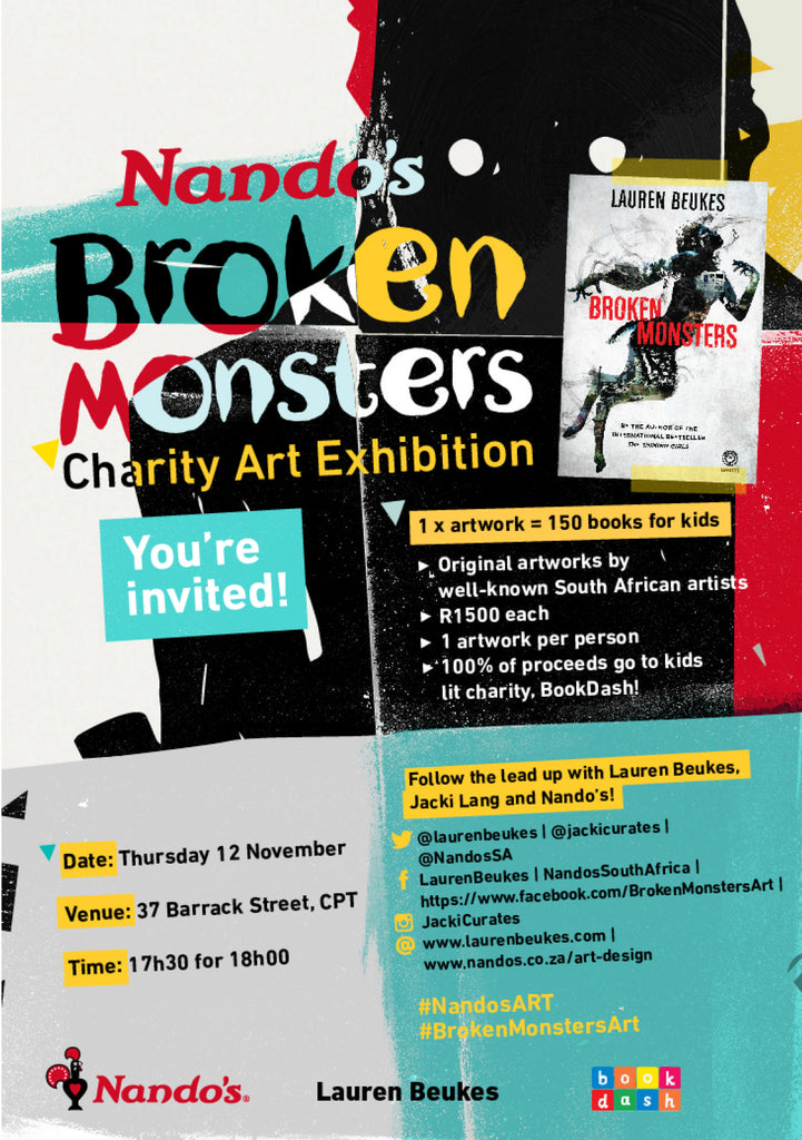 Broken Monsters Art Show