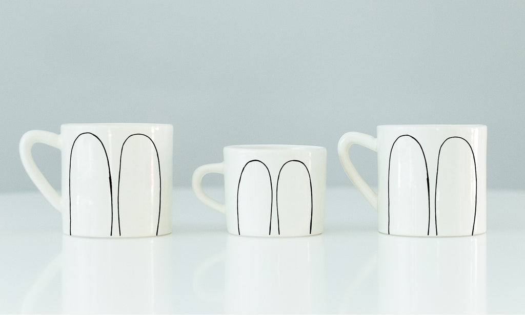 Bunny mug set for the family